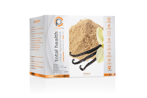 Total Health Meal Replacement Shake - Vanilla Pouches - COMING SOON!