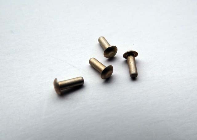 BODY & PAINT # PLAQUE SPECIAL RIVETS - (set of 4) - ALL CAR BM17