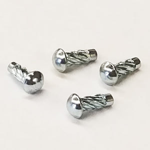 Spiral Plaque Rivets - (set of 4) - M559