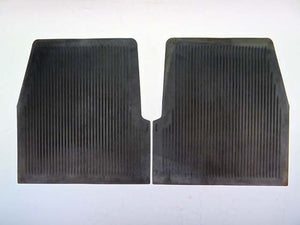REAR FLOOR MAT as set (gas filler in fender) (62'-65') M94A