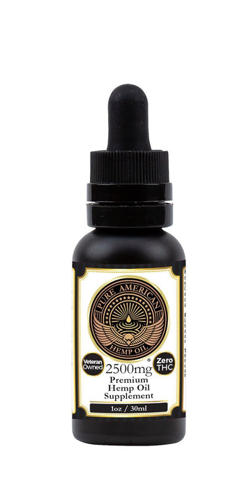 PAHO - 2,500mg Premium Hemp Oil Supplement + Organic MCT (1 oz / 30ml) Tincture PAHO, INC.