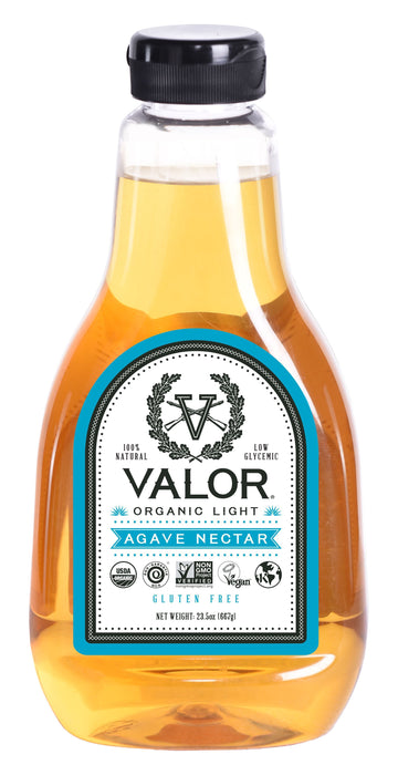 Valor Organic Light Agave Nectar 23.5 oz Valor Agave Valor Spirits, Inc.
