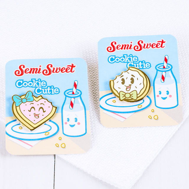 Enamel Cookie Pins
