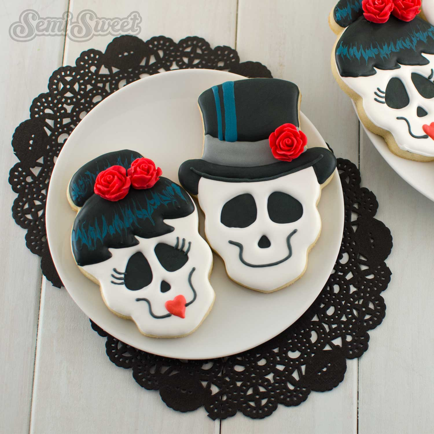 Skull Top Hat Cookie Cutter