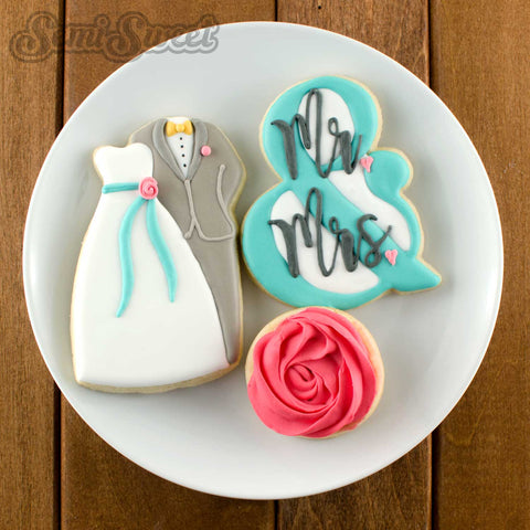 Wedding Couple Cookie Cutter