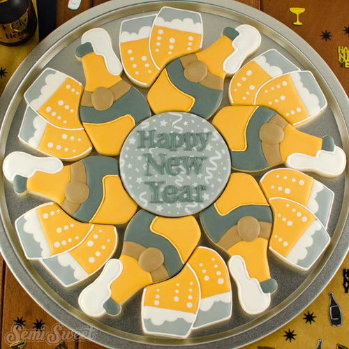 Champagne Cookie Platter