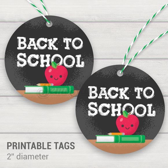 Back to School - Instant Download Printable 2