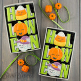 Halloween Word Cookie Cutter Set