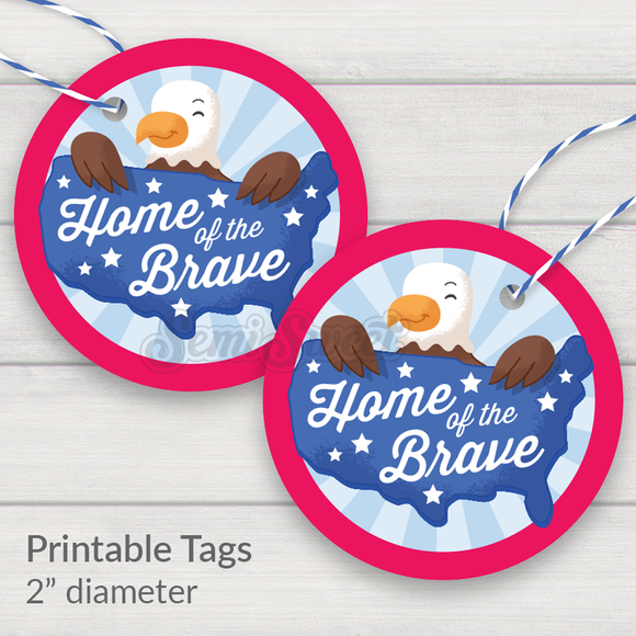 Home of the Brave - Instant Download Printable 2