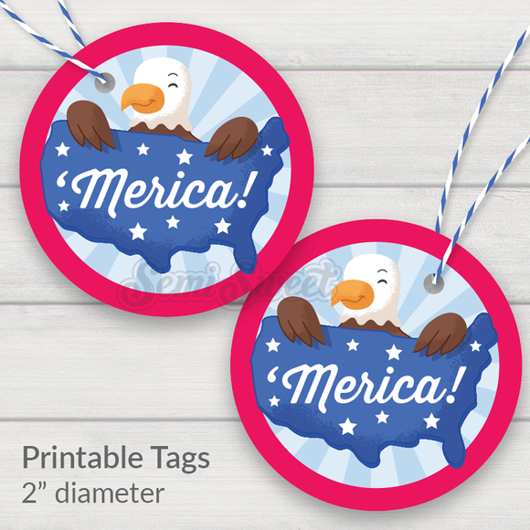 'Merica! - Instant Download Printable 2