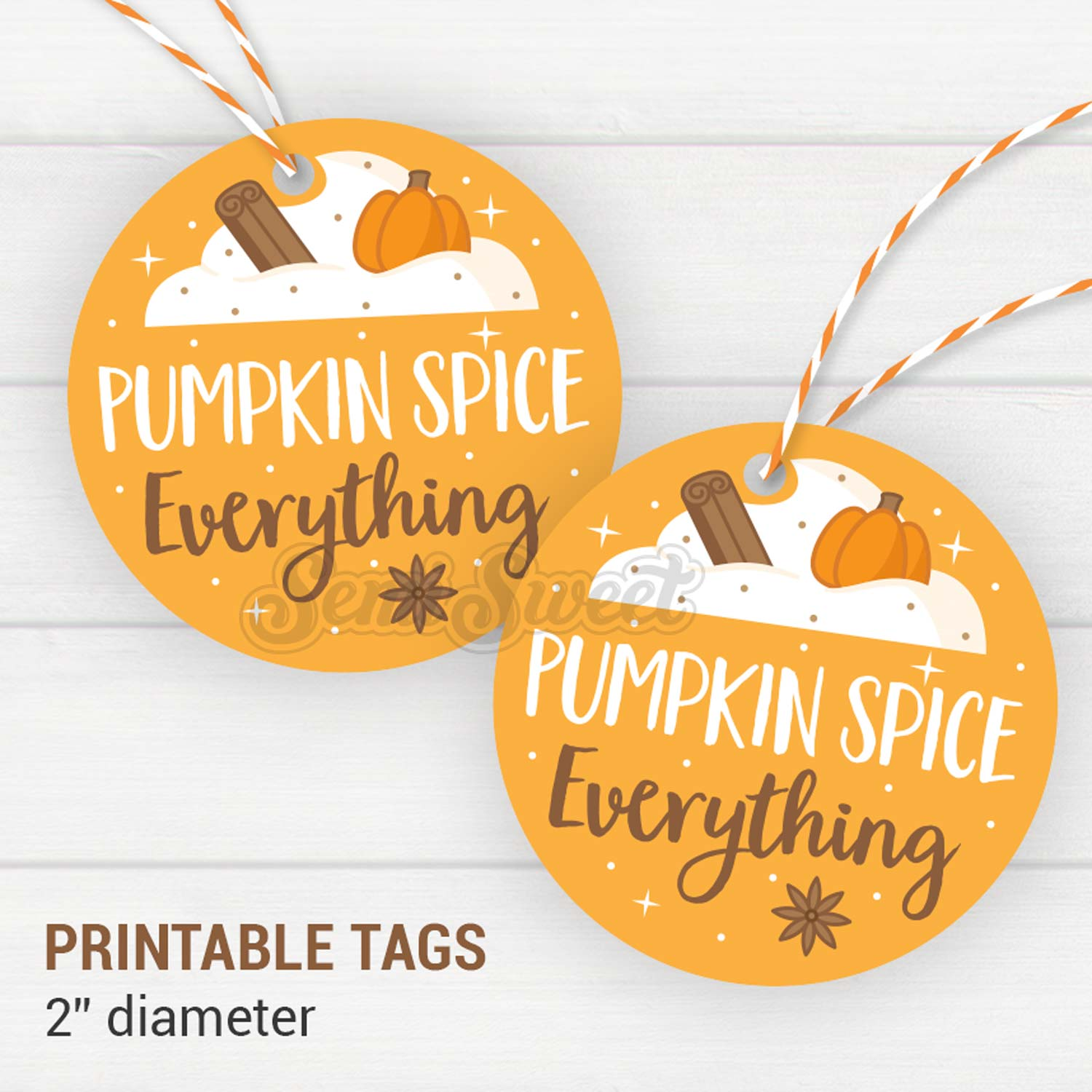 Pumpkin Spice Everything - Instant Download Printable 2