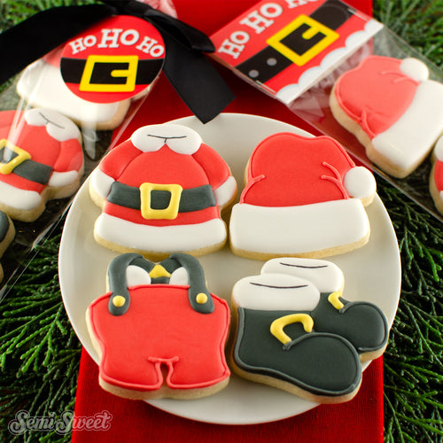 Santa Clothes Mini Cookie Cutter Set
