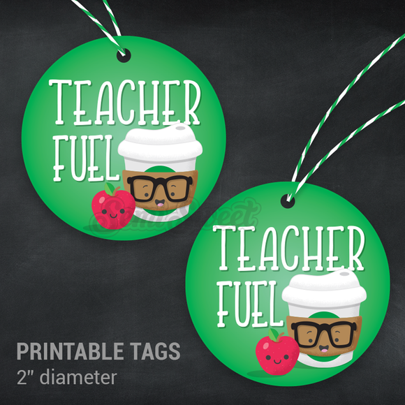 Teacher Fuel - Instant Download Printable 2
