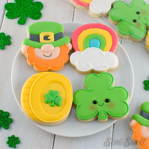 St. Patrick's Mini Cookie Cutter Set