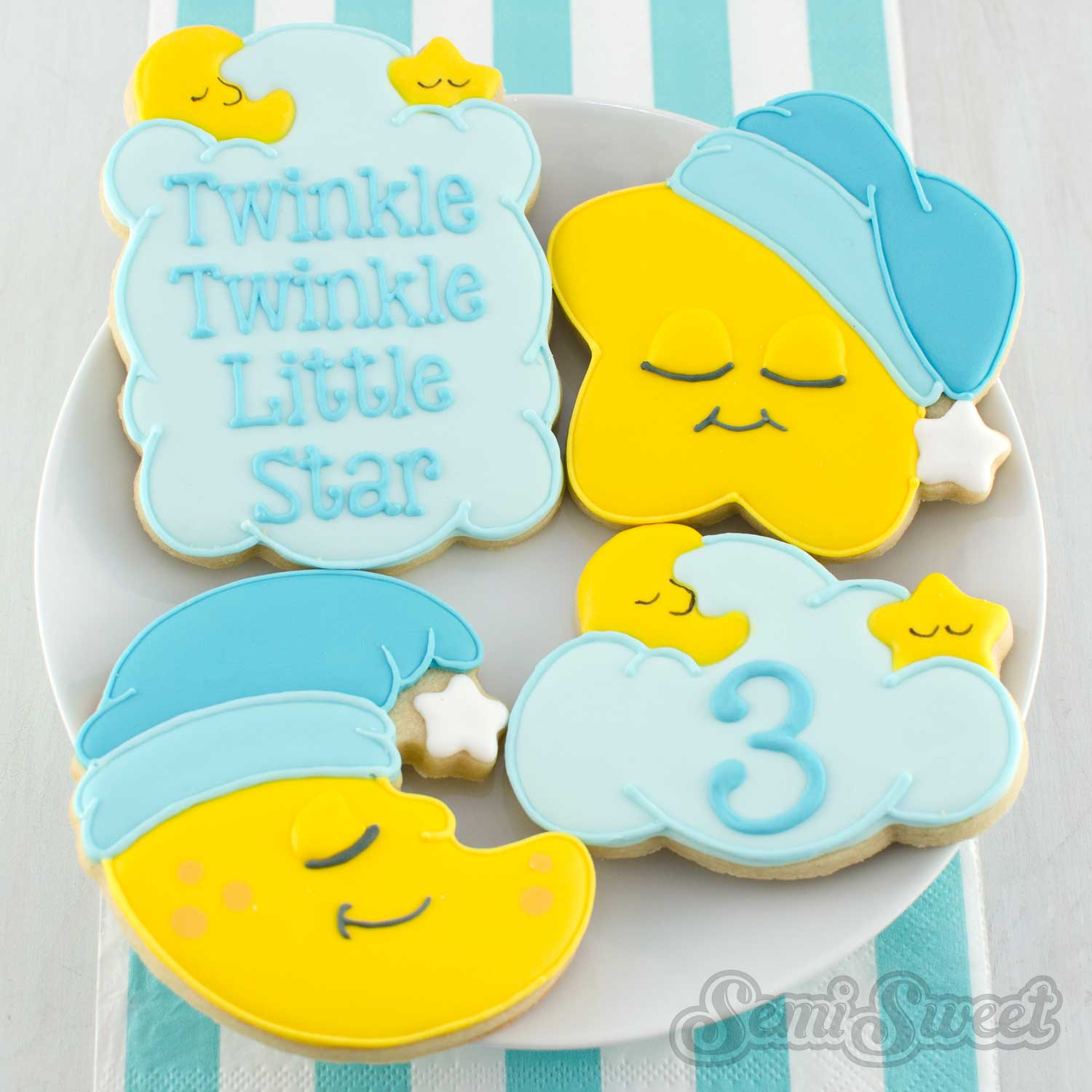 Twinkle Plaque Cookie Cutter