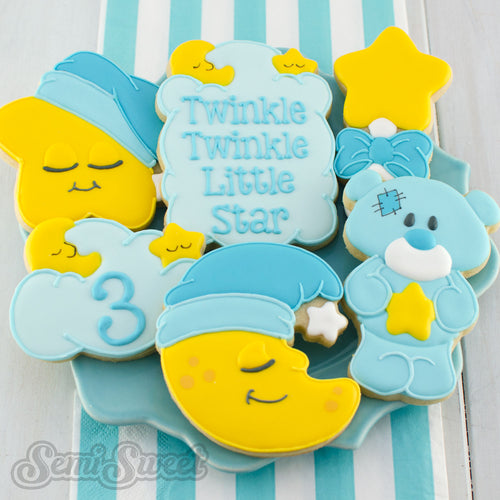 Sleeping Star Cookie Cutter