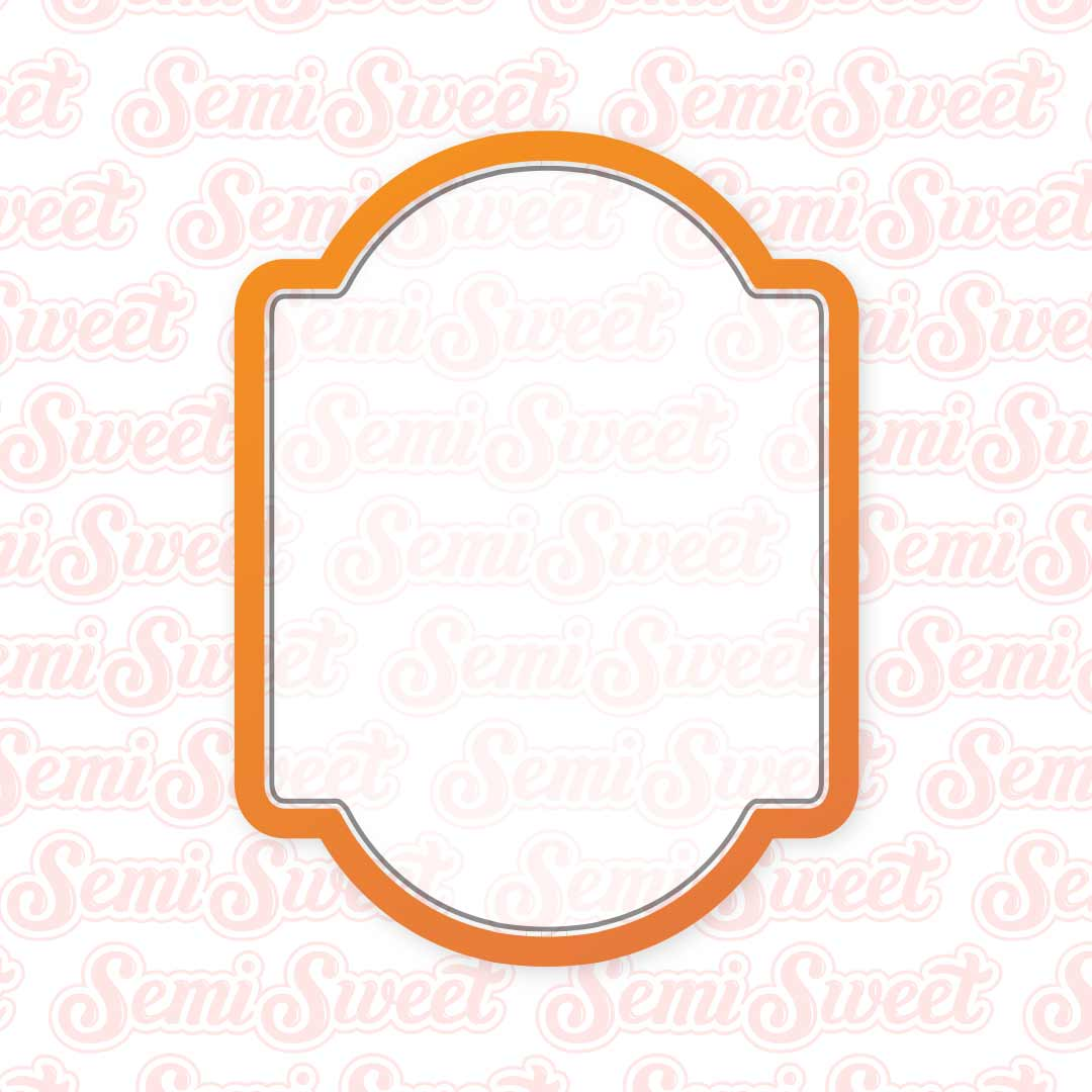 Arch Plaque Cookie Cutter