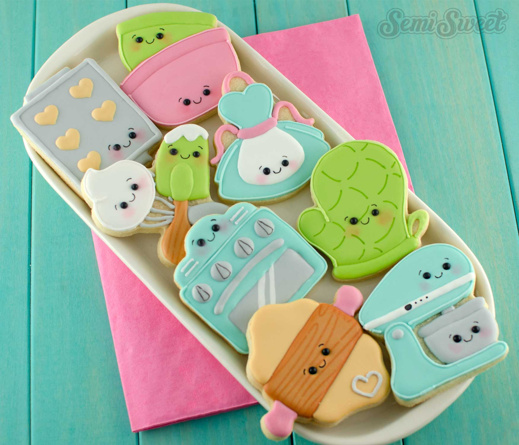 Baking Mini Cookie Cutter Set