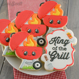 BBQ Grill Cookie Cutter
