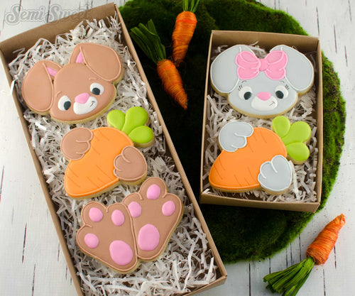 Bunny Body Cookie Cutter Set