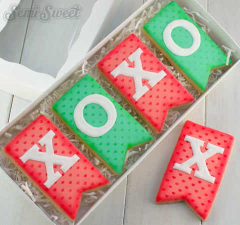 Bunting Flag Cookie Cutter