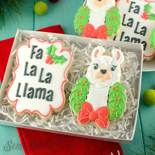 Holly Plaque Cookie Cutter