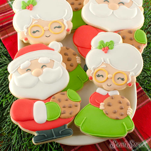 Cookie Claus Couple Cutter Set