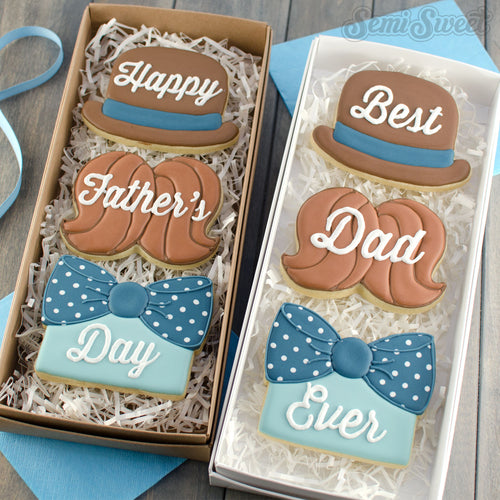Dapper Dad Cookie Cutter Set