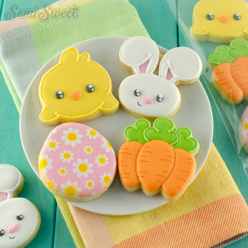 Easter Mini Cookie Cutter Set
