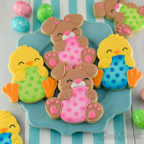 Egg Hugger Bunny Cookie Cutter