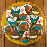 Thanksgiving-turkey-cookies-platter