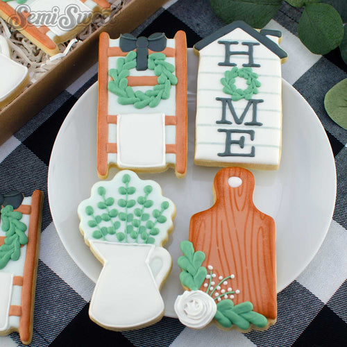 farmhouse housewarming cookies