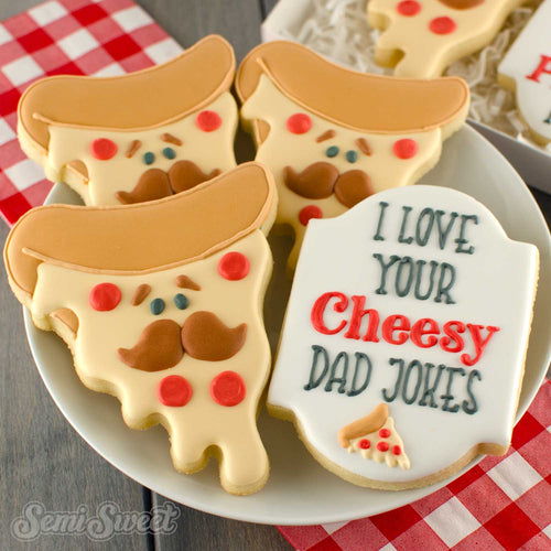 Pizza Dad Cookie Cutter