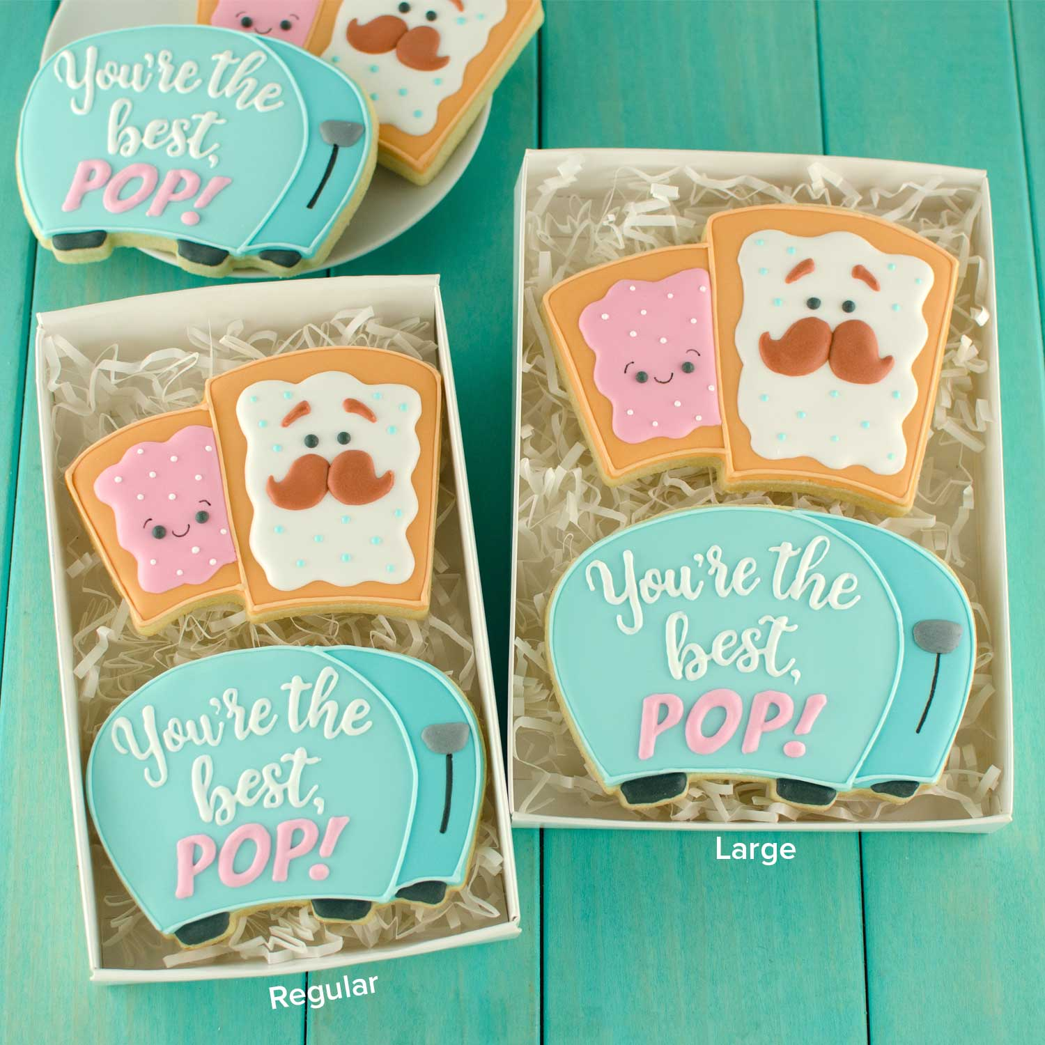 Pop-Tart & Toaster Cookie Cutter Set
