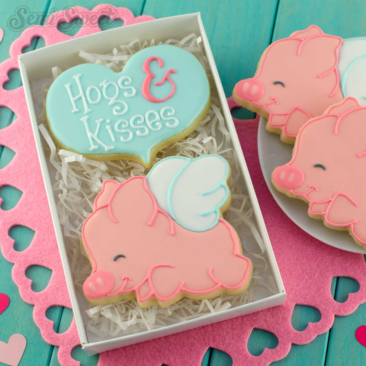 Flying Pig Cookie Cutter