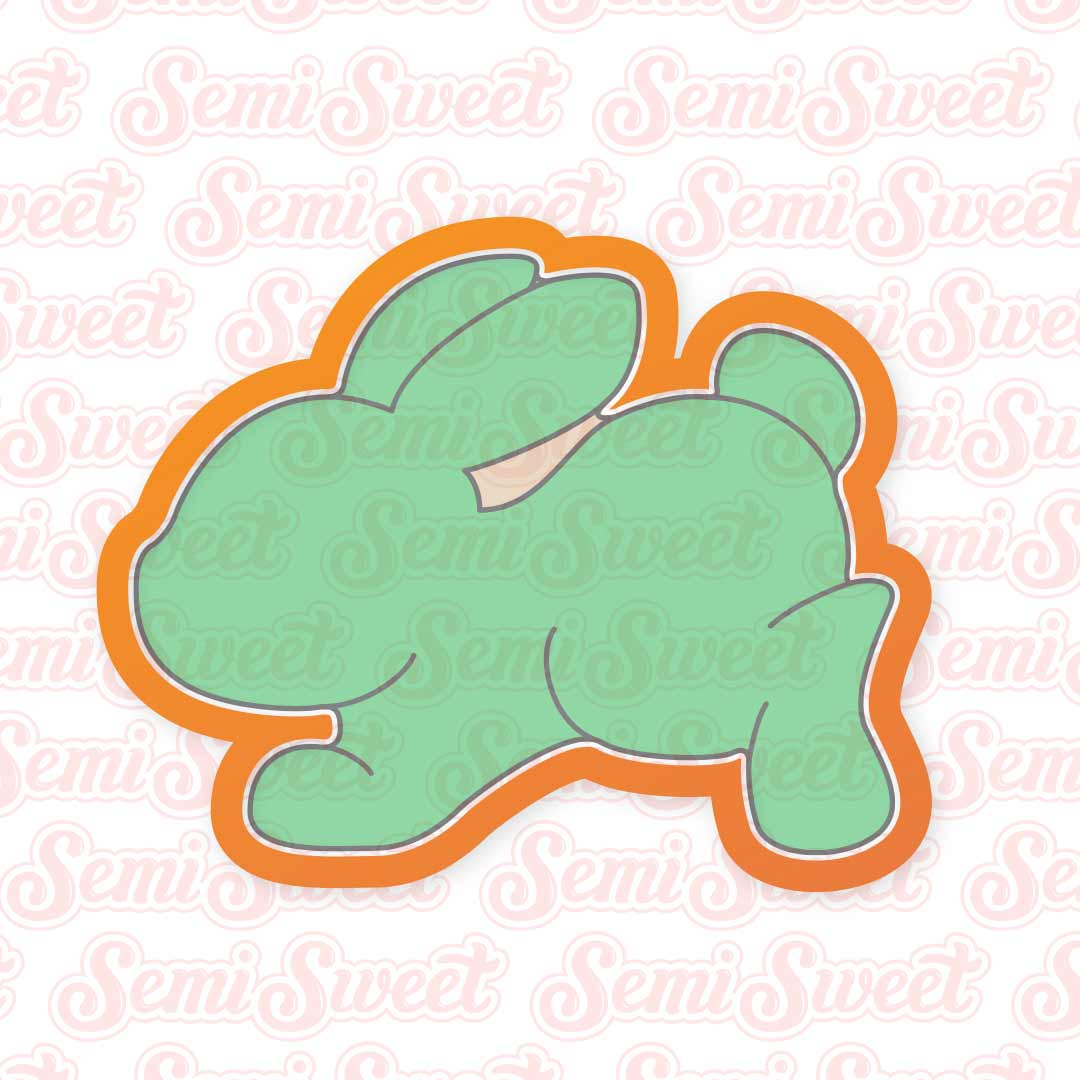 Hopping Bunny Cookie Cutter | Semi Sweet Designs