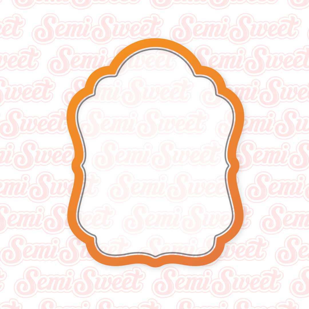 Icon Plaque Cookie Cutter | Semi Sweet Designs