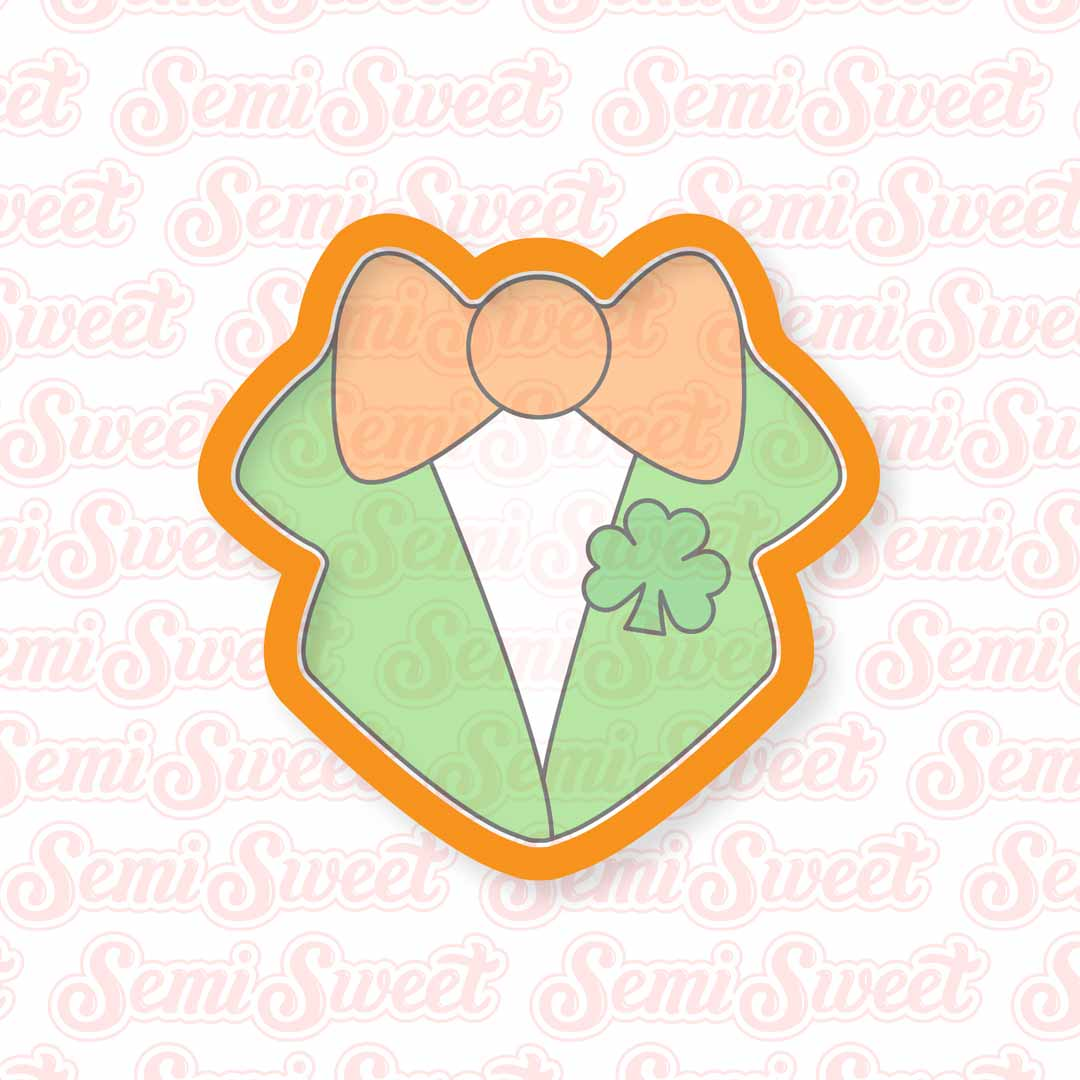 Bow Tie and Lapels Cookie Cutter | Semi Sweet Designs