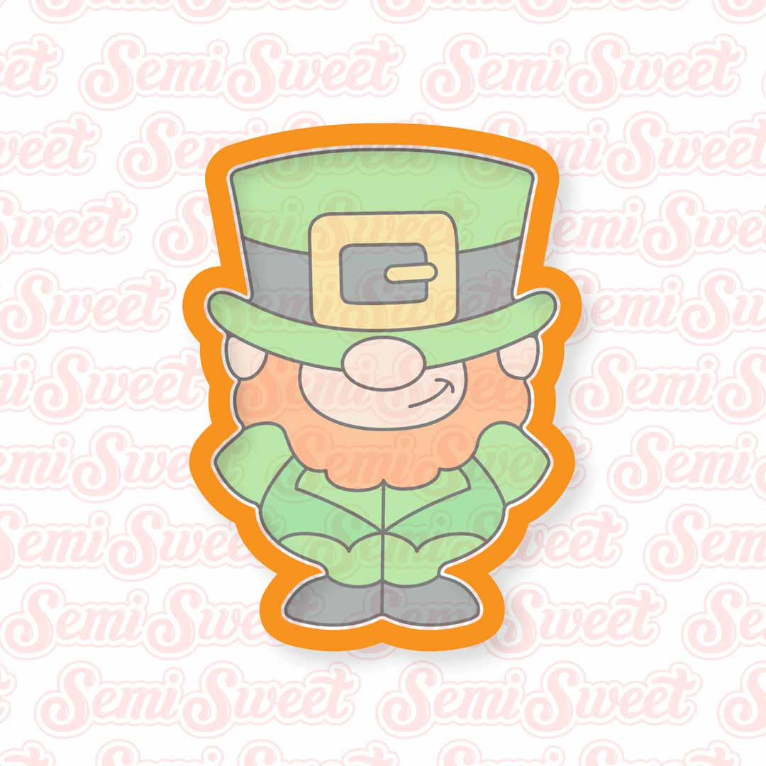 Leprechaun Body Cookie Cutter | Semi Sweet Designs