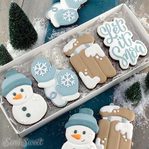 Let it Snow Cookie Set | Semi Sweet Designs