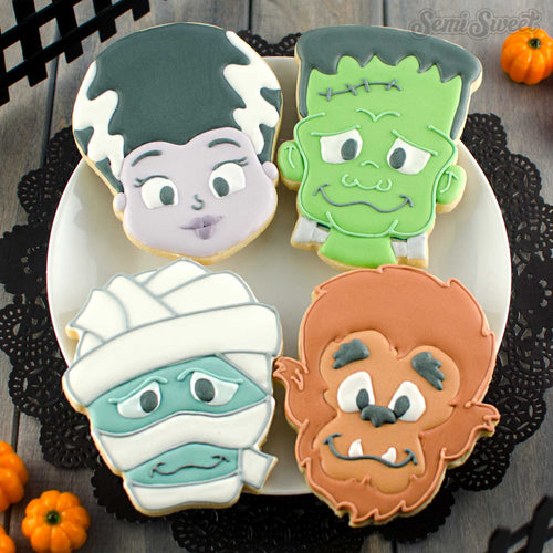 Classic Monsters Cookie Cutter Set