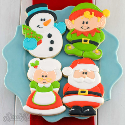 North Pole Series Body Cookie Cutters