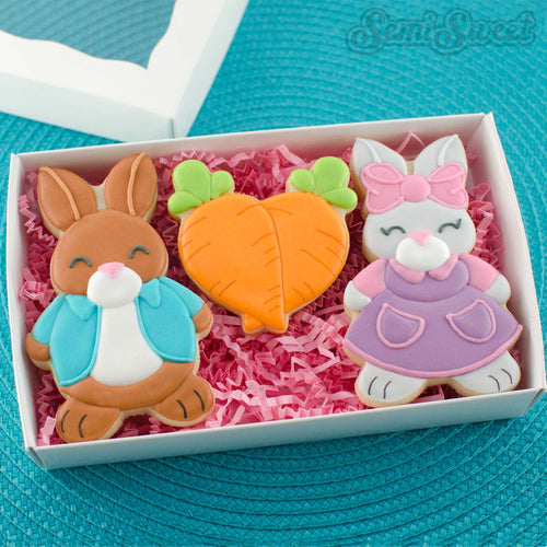 Rabbit Girl Cookie Cutter