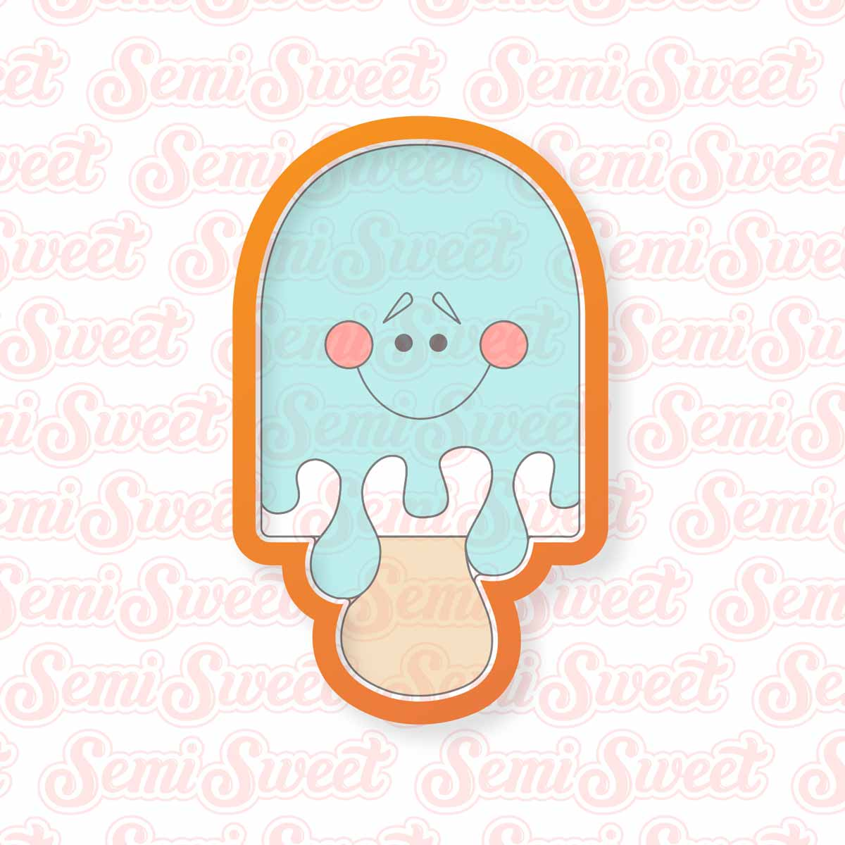Popsicle Cookie Cutter | Semi Sweet Designs
