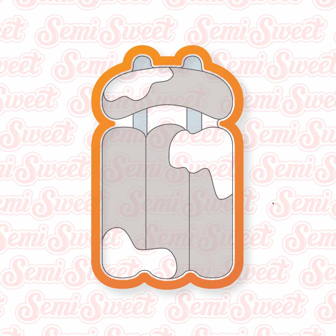 Sled Cookie Cutter | Semi Sweet Designs