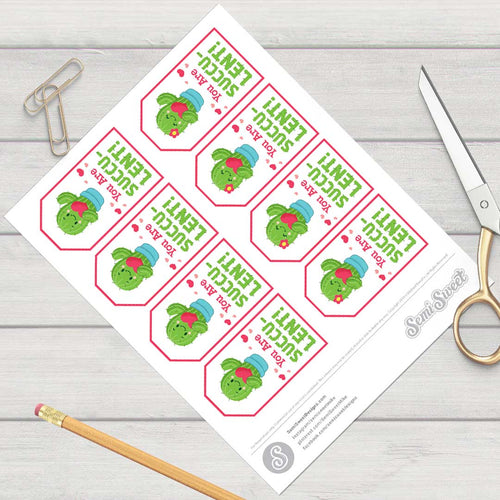 You Are Succulent - Instant Download Printable Tag