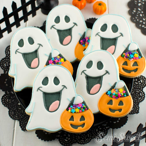 Trick-or-Treat Ghost Cookie Cutter