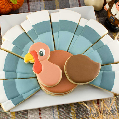 Turkey Platter 4-Piece Cutter Set