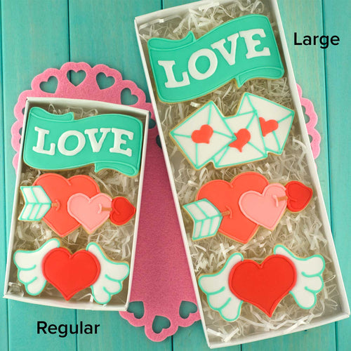 Love Letters Cookie Cutter
