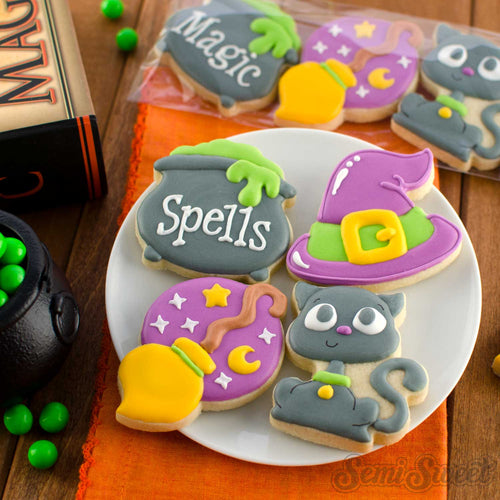 Witch Mini Cookie Cutter Set